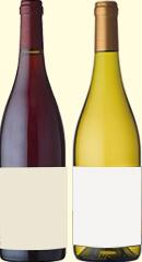 高級ブルゴーニュ産ワインが赤・白1本ずつ