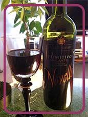 ワイン片手にゆっくりとした時間