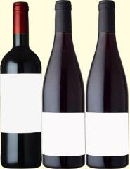 フランス・イタリア産辛口赤ワイン3本