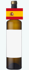 スペイン産の白ワイン