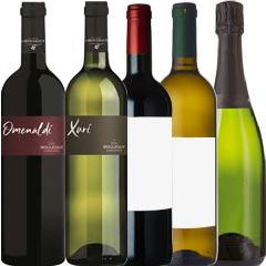 【季節のワインセット★8月号】エリゼ宮&G8サミット採用紅白ワイン入5本セット