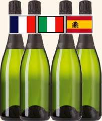 スパークリングワイン4本