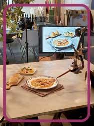 料理の撮影