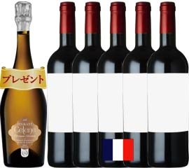 【15周年記念】感謝還元ボルドー赤ワイン5本セット