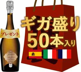 【15周年記念】感謝還元ギガ盛りワイン50本セット