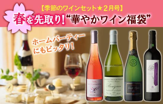 季節のワインセット【2月号】