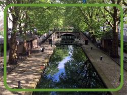 パリのサン・マルタン運河
